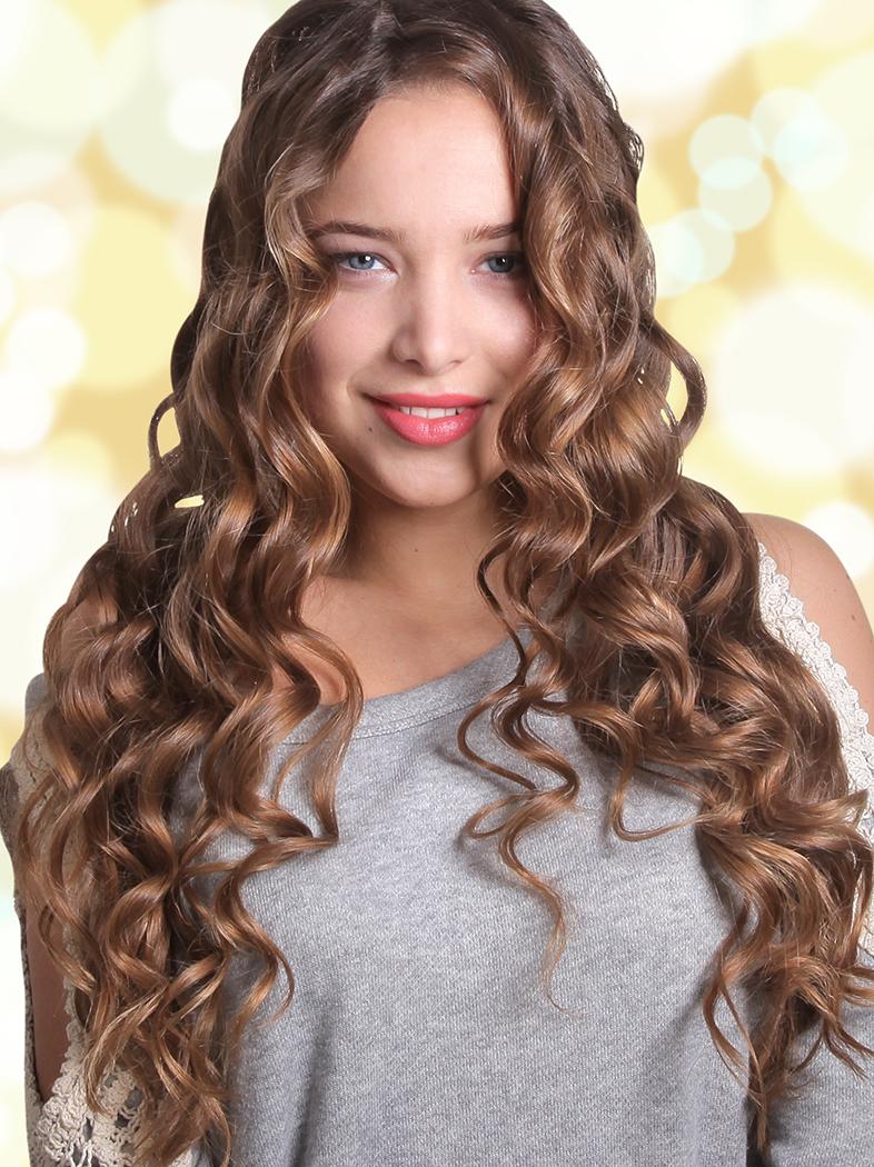Картинки красивые кудри на средние волосы